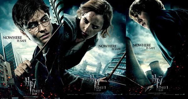 ハリーポッターと死の秘宝3人